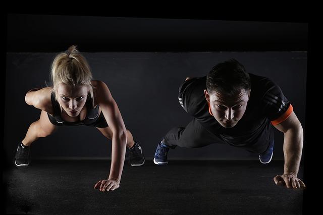 párové cvičení